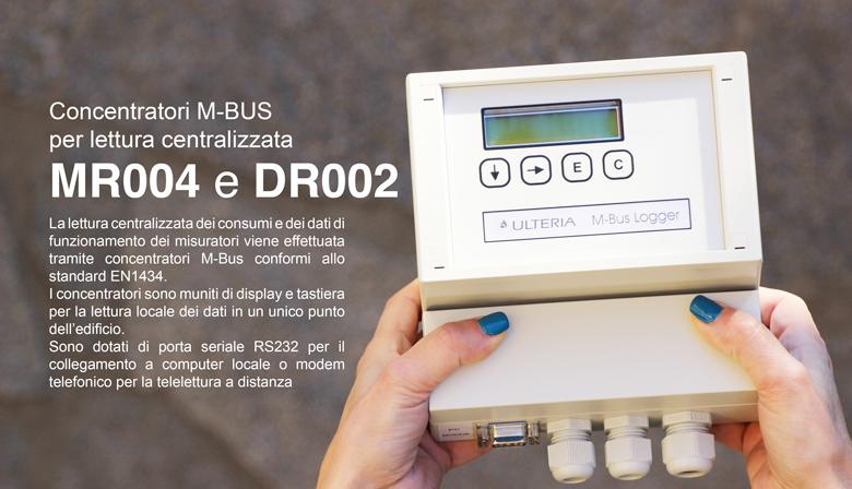 Concentratori dati m bus per lettura centralizzata ulteria for Ulteria valvole termostatiche